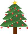 Animated Picture of a Christmas Tree