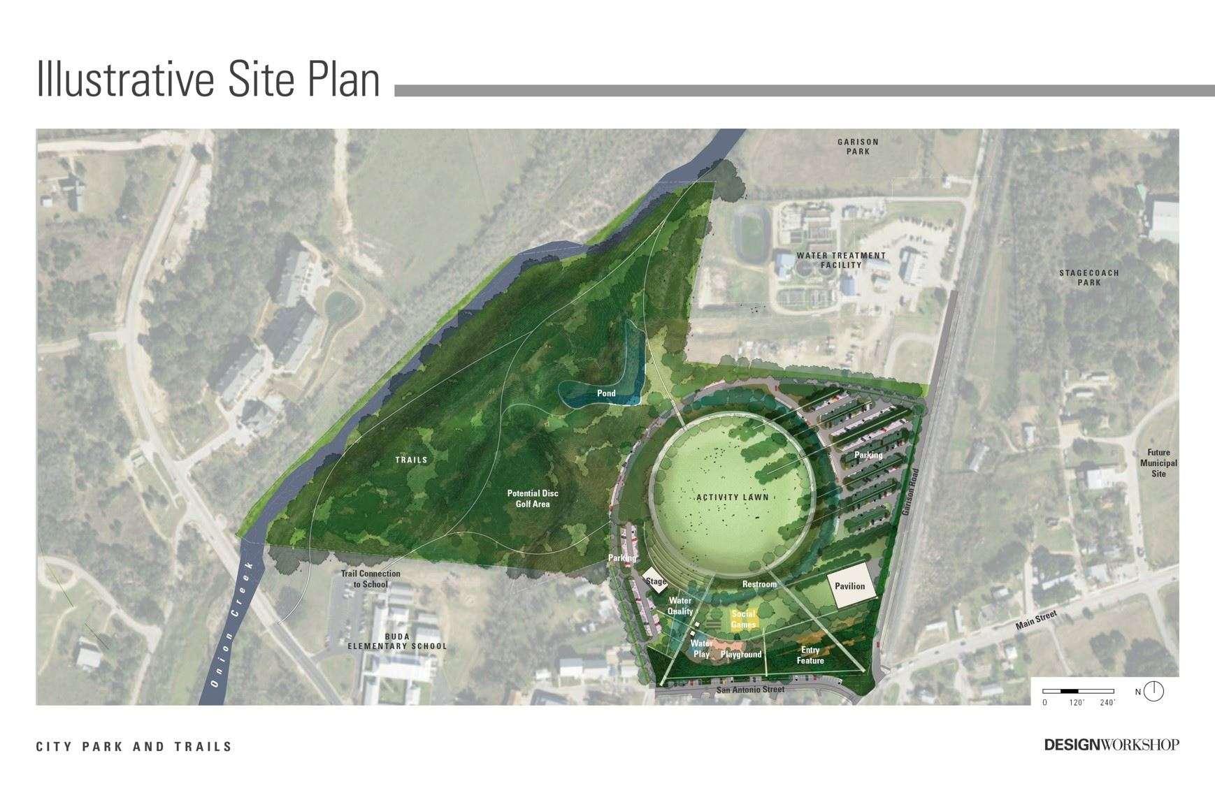 City Park Illustrative Site Plan