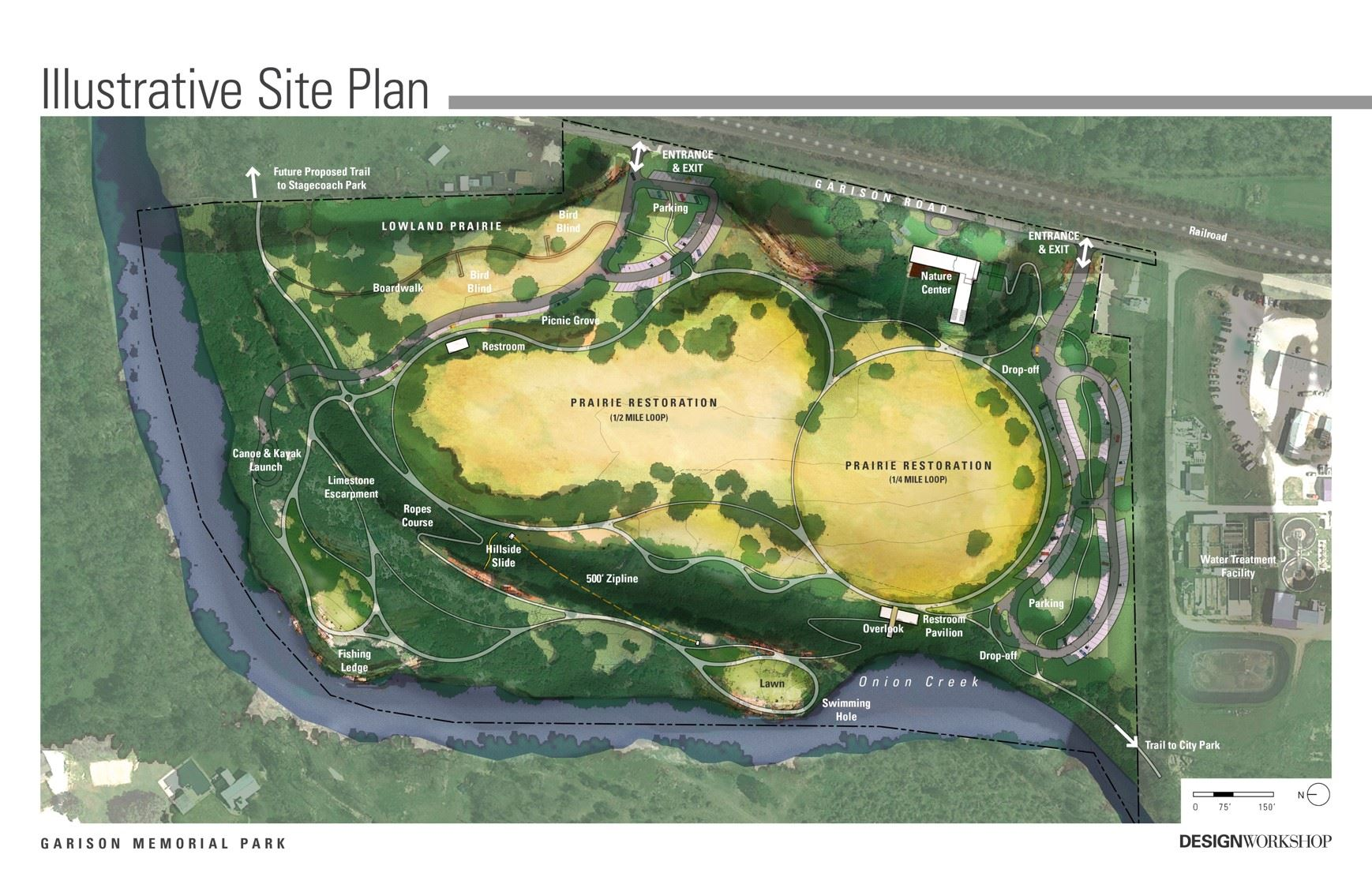 Garison Memorial Park Illustrative Site Plan
