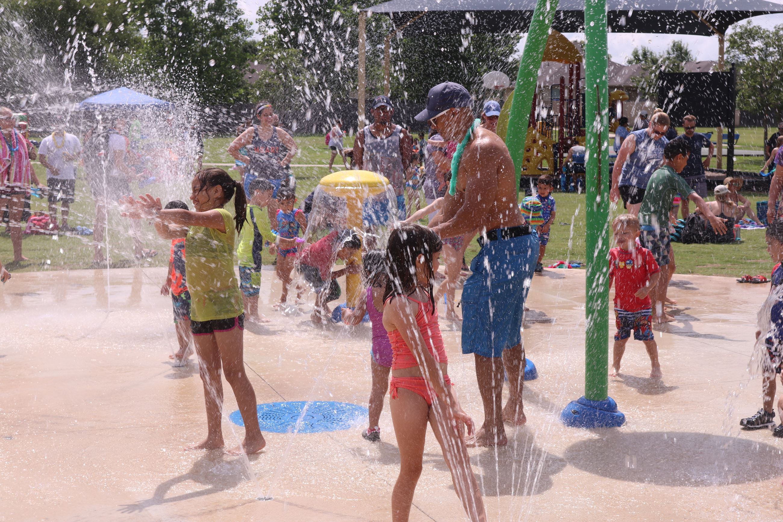 Green Meadows Splash Pad