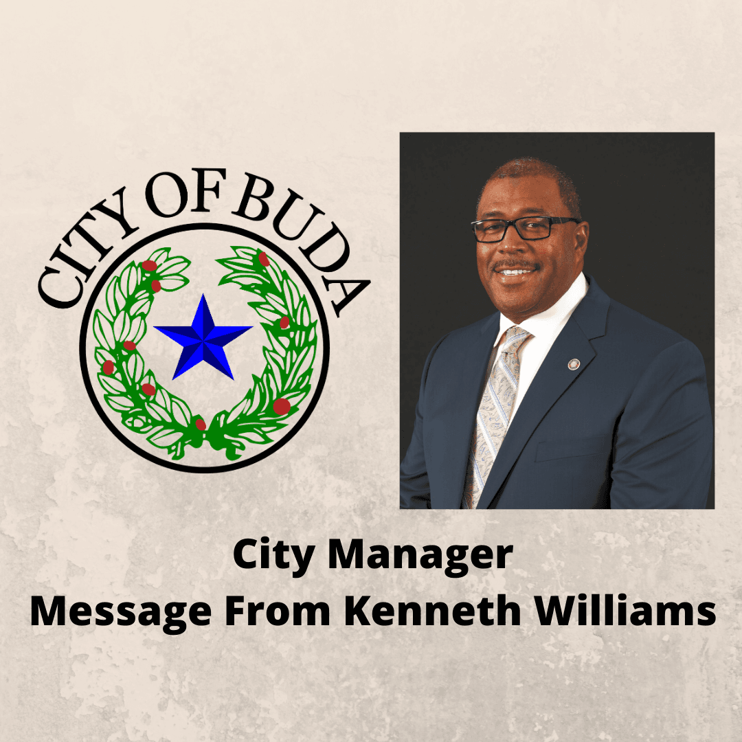 City Manager Message From Kenneth Williams - Instagram