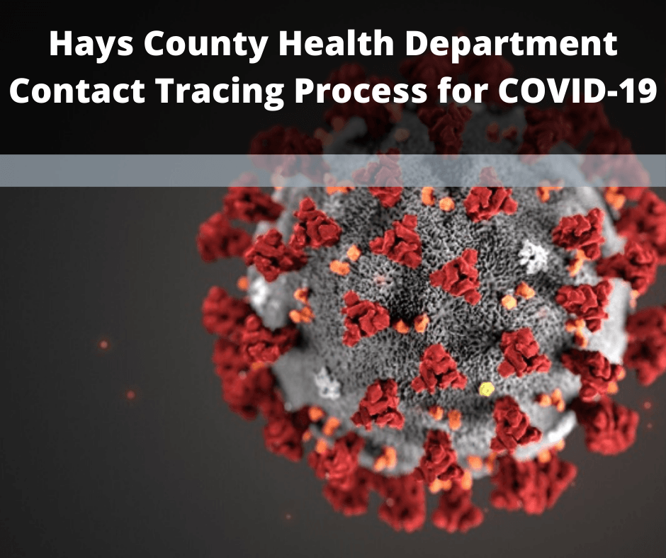 Hays County Health Department Contact Tracing Process for COVID-19
