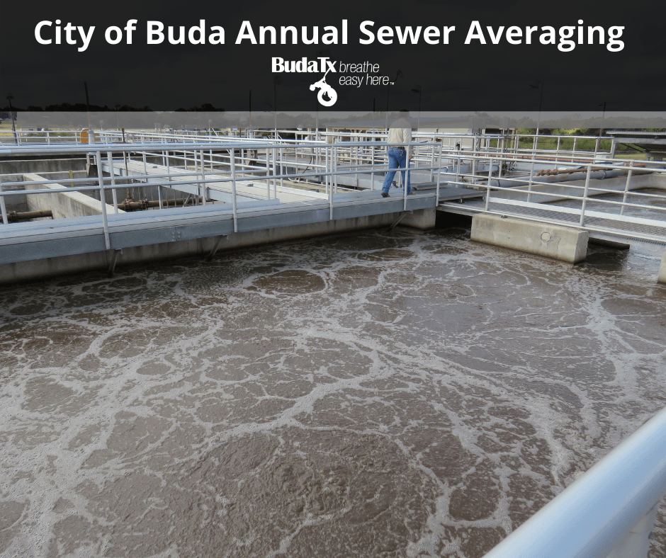 City of Buda Annual Sewer Averaging
