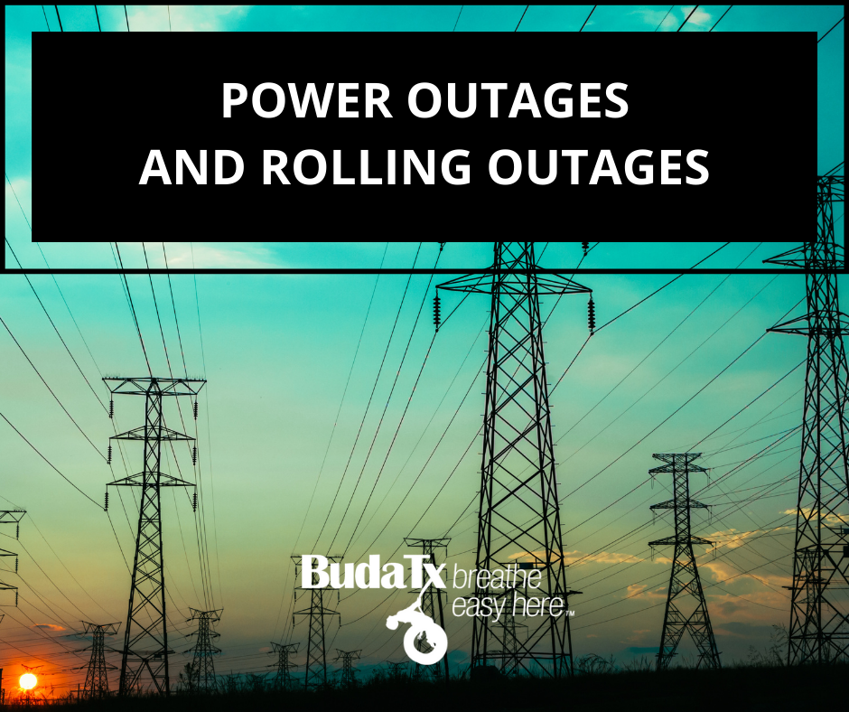 POWER OUTAGES AND ROLLING OUTAGES