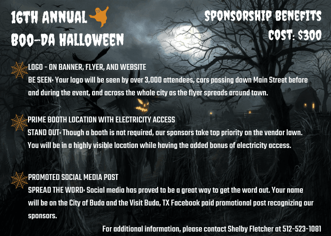 Boo-Da Halloween Sponsorship Flyer (1)