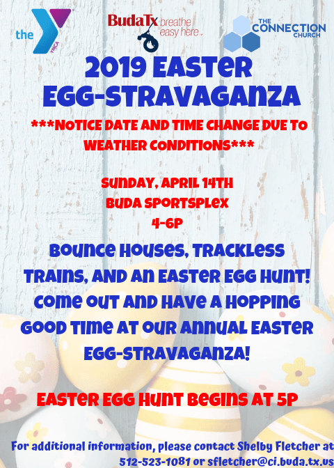 Annual Easter Egg Hunt UPDATED FLYER